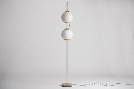 """Doppio Pallone"" floor lamp, model LTE 10"