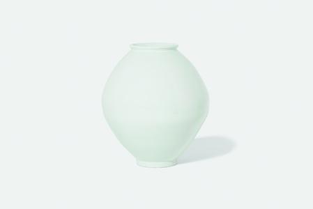 White Porcelain Moon Jar