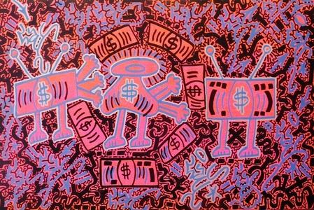 Pink Money Bags
