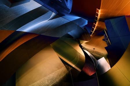 Disney Hall Abstraction 09