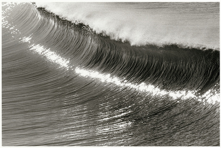 Sculpted Wave, Hermosa Beach, California, U.S.A.