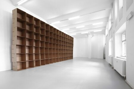 112 prepared dc-motors, cotton balls, cardboard boxes 60x60x60 cm,