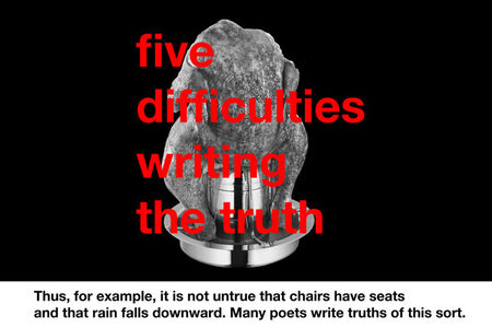 Five Difficulties Writing The Truth