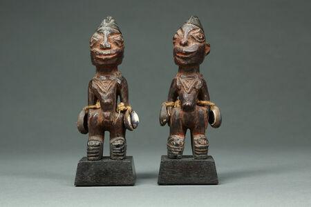 Delightful Pair of Ibeji Twins
