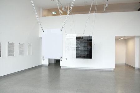 Apologies (installation view)