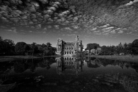 'Raj Bari', Bengali Aristocrat's Colonial mansion, outskirts of Calcutta
