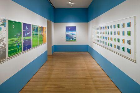 """Installation view """"Otl Aicher: München 1972"""", 2009"""
