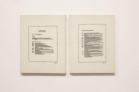 Curriculum vitae (díptico)