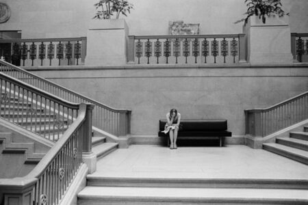 Stair Hall of the Museum in Chicago