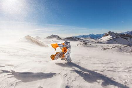 Wind Sculptures - Glacier Paradise