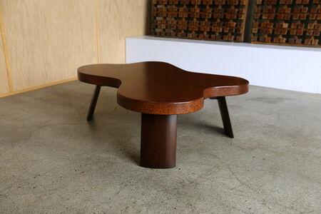 Amoeba Cork Top Coffee Table by Paul Frankl