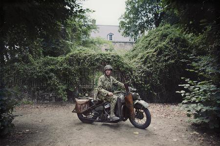 Montsurs (France) – Harley-Davidson WLA 'Liberator', 1944.