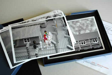 Lego Concentration Camp (author set 22 photographs)