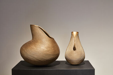 BM Horse Vases A & C