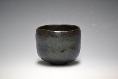Tea Bowl, Black Raku Ware
