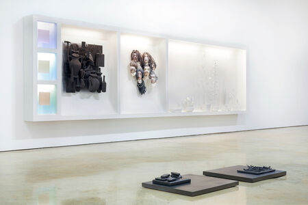 we float above to spit and sing (installation view)