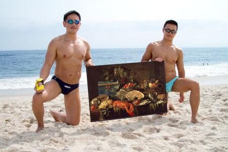 The New Art Handlers (Jan Davidsz de Heem, Still Life with Lobster, 1643)