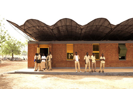 Kéré Architecture, Dano Secondary School , Burkina Faso