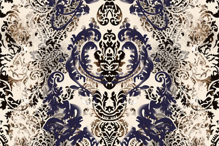 The Lucent Parlor: Damask Wallpaper
