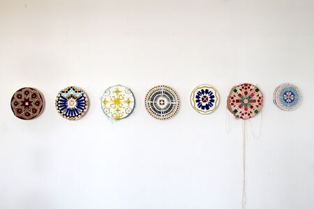 Mostly Mosaic Mandala Paintings (Ourzazate, Guelmim, Ait M'hammed, Tangier, Khenifra, Marrakesh, Amizmiz)