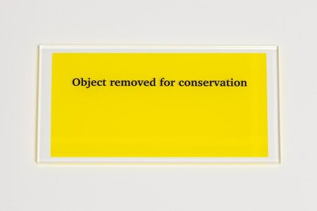 Object removed for conservation