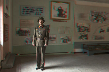 #36.  SIN  UN  YONG,  27,Military  Guide,Armistice  Signing  Hall,Panmunjom