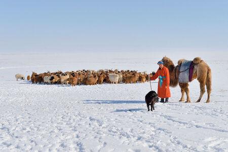 """""""The Good Shepherd"""" [Uvs Aimak, Mongolia]"""