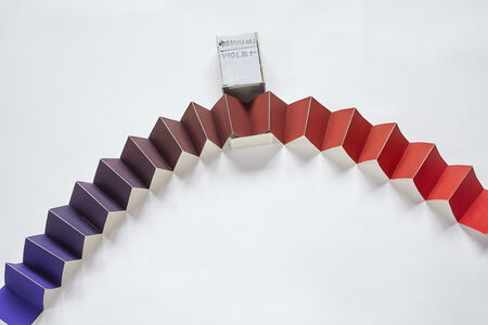 Minimum distances gama (Vermillon-Violet), from the series Collection of Colours