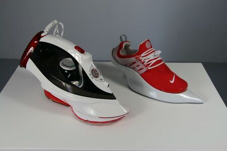 IRON NIKE, RED RIGHT