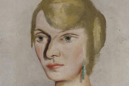 Portrait of Irma Simon