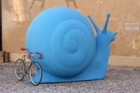 Snail (Large) (Blue)