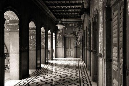 'The Eastern Corridor', Colonial period residence, Calcutta