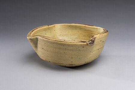 Yellow Double Rim Bowl, Large