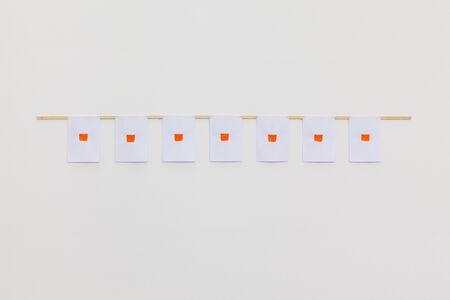 7 imprints at regular intervals of 30 cm