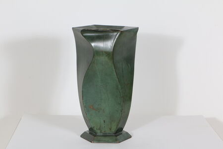 Bronze Vase, by Jean Dunand