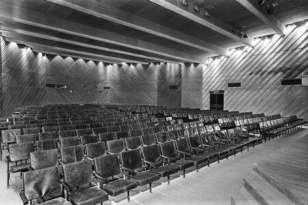 Shakuntalam Theatre, Pragati Maidan, New Delhi, 1972 (Architect: The Design Group)