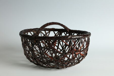 Bamboo Flower Basket (T-2256)