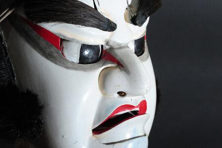 """""""Matsuo Maru"""" Spirited face of wooden puppet"""