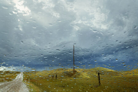 Storm Light (from the series My Dakota)