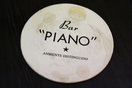 Bar Piano II (Mahogany Baby Grand), 2014