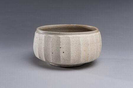 Dry White Fluted Bowl