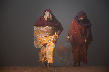 Coming back from Yamuna River