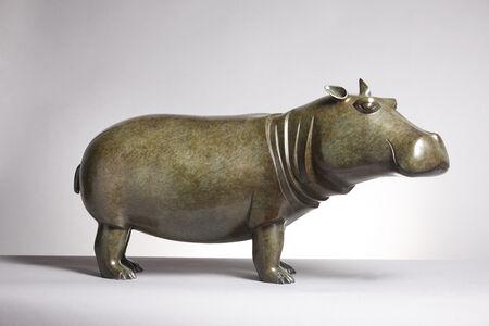 Hippopotamus, monumental model