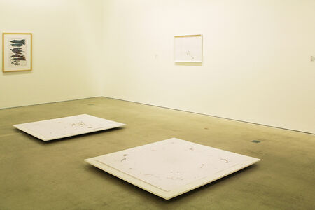 Installation shot: 34. Österreichischer Grafikwettbewerb, Galerie im Taxispalais, Innsbruck 2015. 34th Austrian Graphic-Contest, Galerie im Taxispalais, Innsbruck 2015