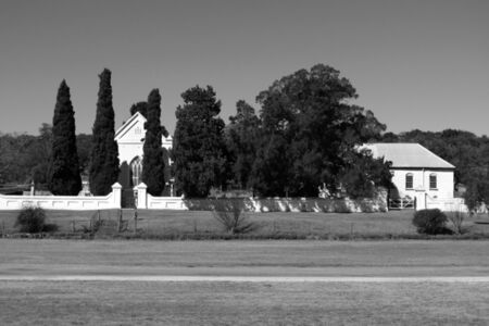Salem Anglican church and cricket pitch