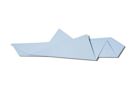 Large Light Blue Folded Flat 02