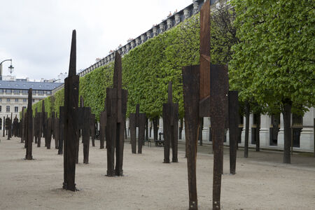 Untitled_Installation view at Jardin du Palais Royal, Paris