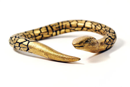 Dry Up: Golden Snake Choker