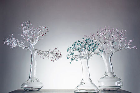 Blossom Glass Bonsai