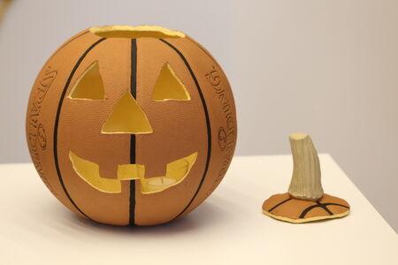 Basketball Jack O' Lantern